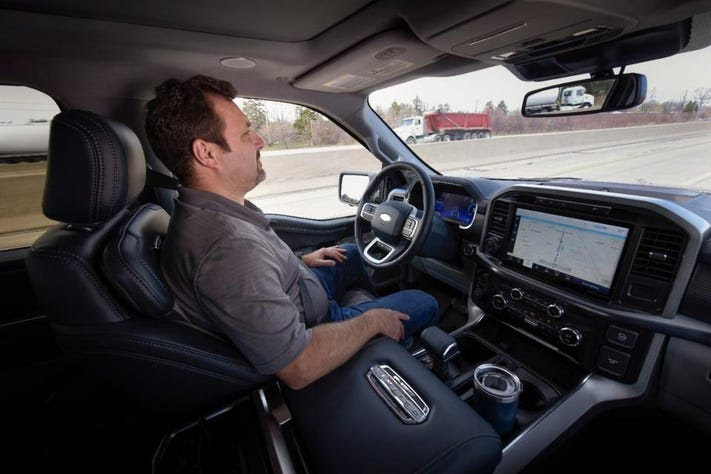 Ford BlueCruise hands-free driving system