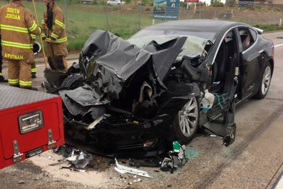 Tesla under NHTSA probe after FSD-related crashes